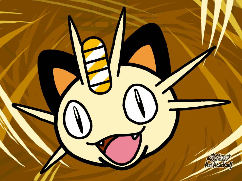 Pokémon-Zeichnung: Pokemon Art Acedemy Mauzi