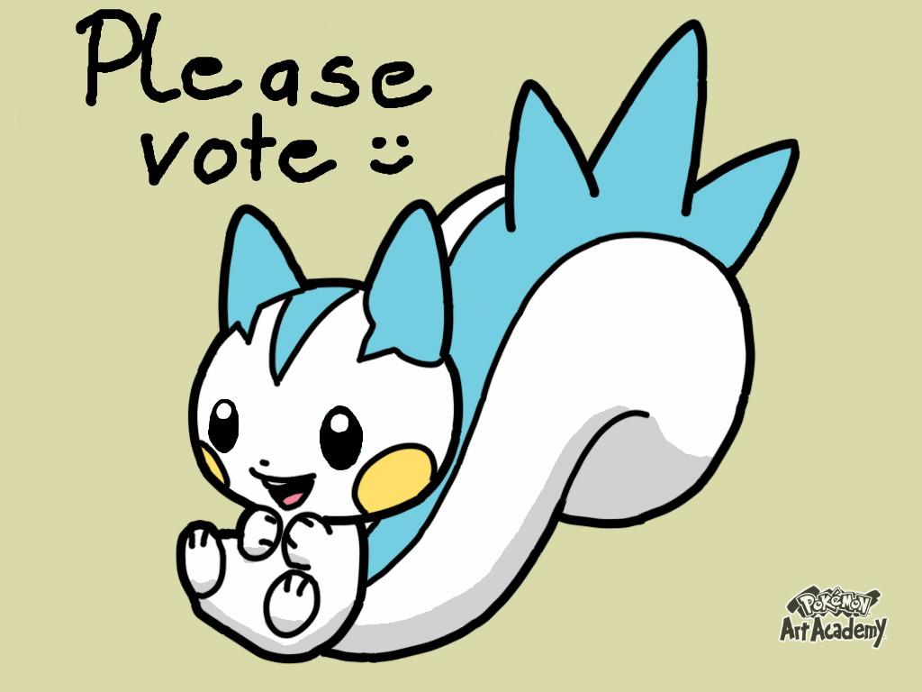 Pokémon-Zeichnung: Pachirisu