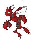 Pokémon-Pixelart: Scherox Scratch