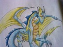 Thunder the legendary Dragon