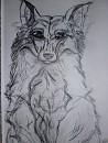 Der Wolf, den ich rahmte^^