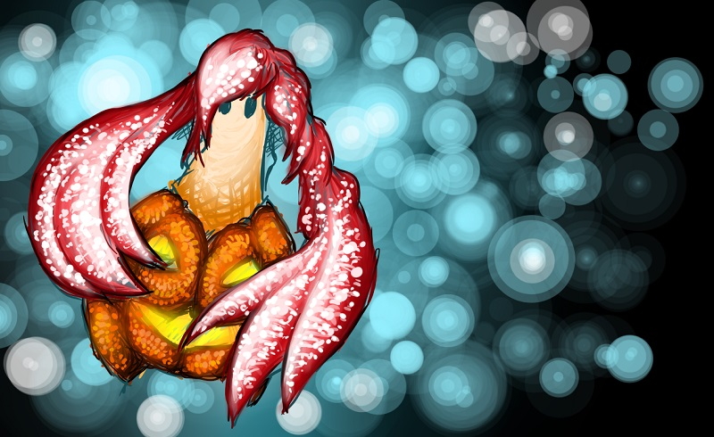 Pokémon-Zeichnung: Pumpdii - Pumpdjinn