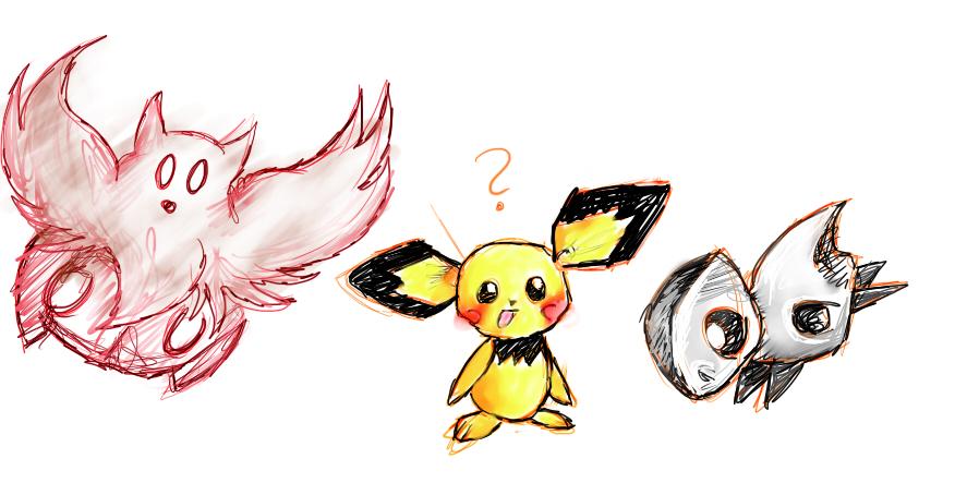 Pokémon-Zeichnung: Wah.. Fail!