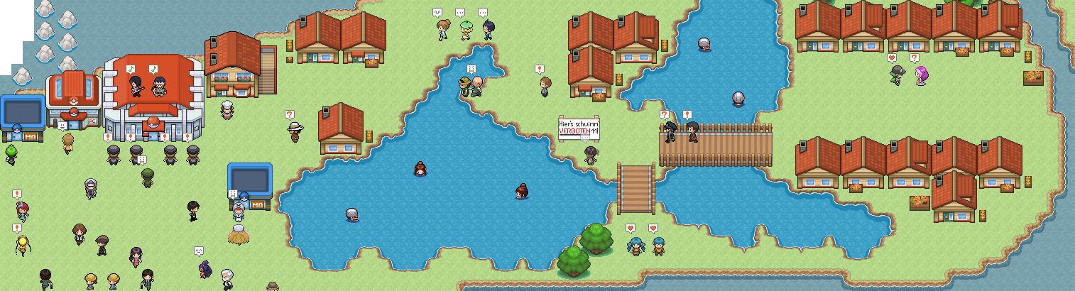 Pokémon-Map: Lustiges Treiben in Baumkasten City