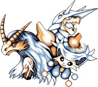 Pokémon-Pixelart: Lohgock, Enekoro und ein...? Stolloss!