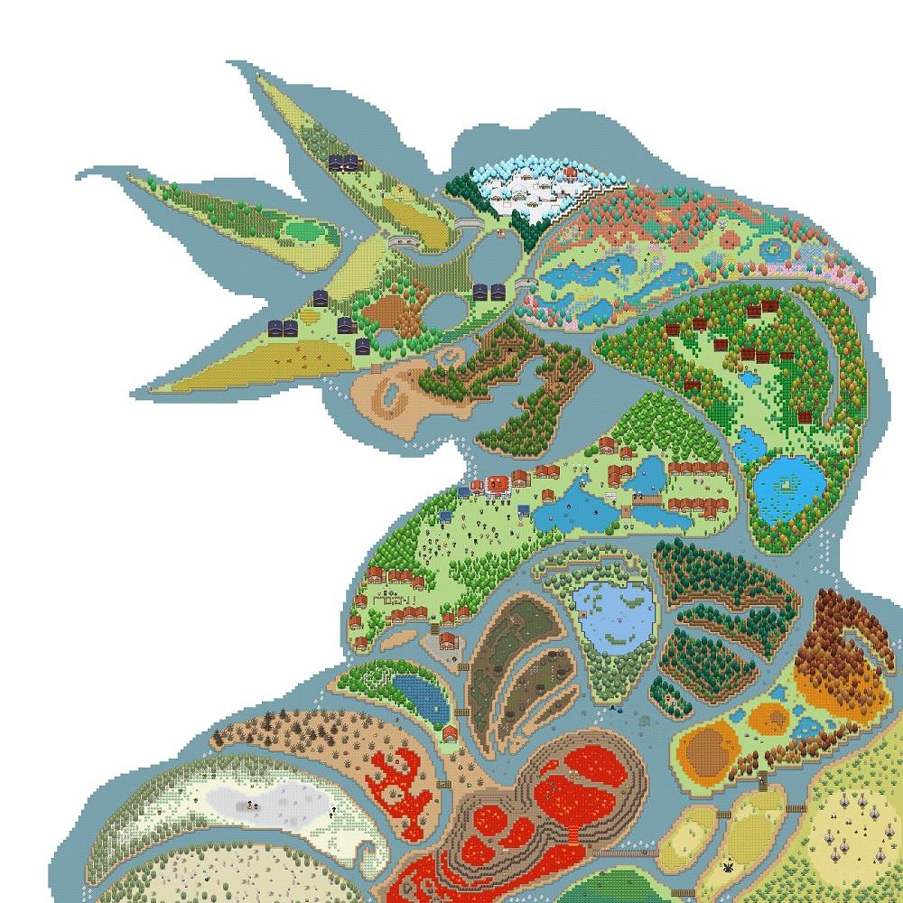 Pokémon-Map: Baumkasten-Großprojekt | Eine Stolloss-Map