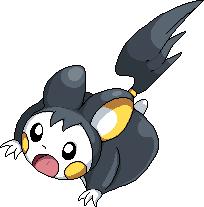 Pokémon-Pixelart: Emolga für Korbtop