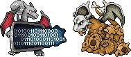 Pokémon-Sprite: Spriting-Gluraks