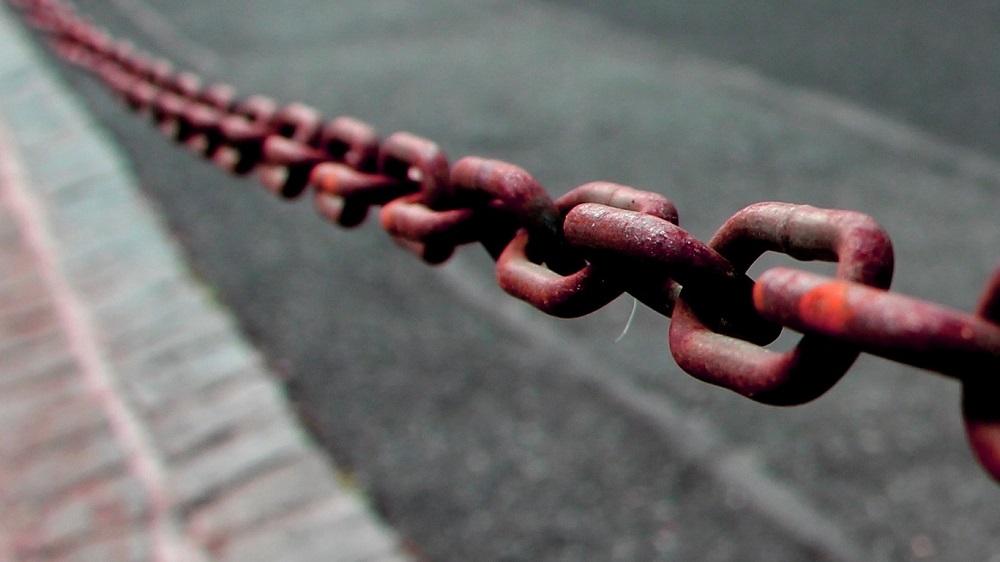 Foto: Stahlkette