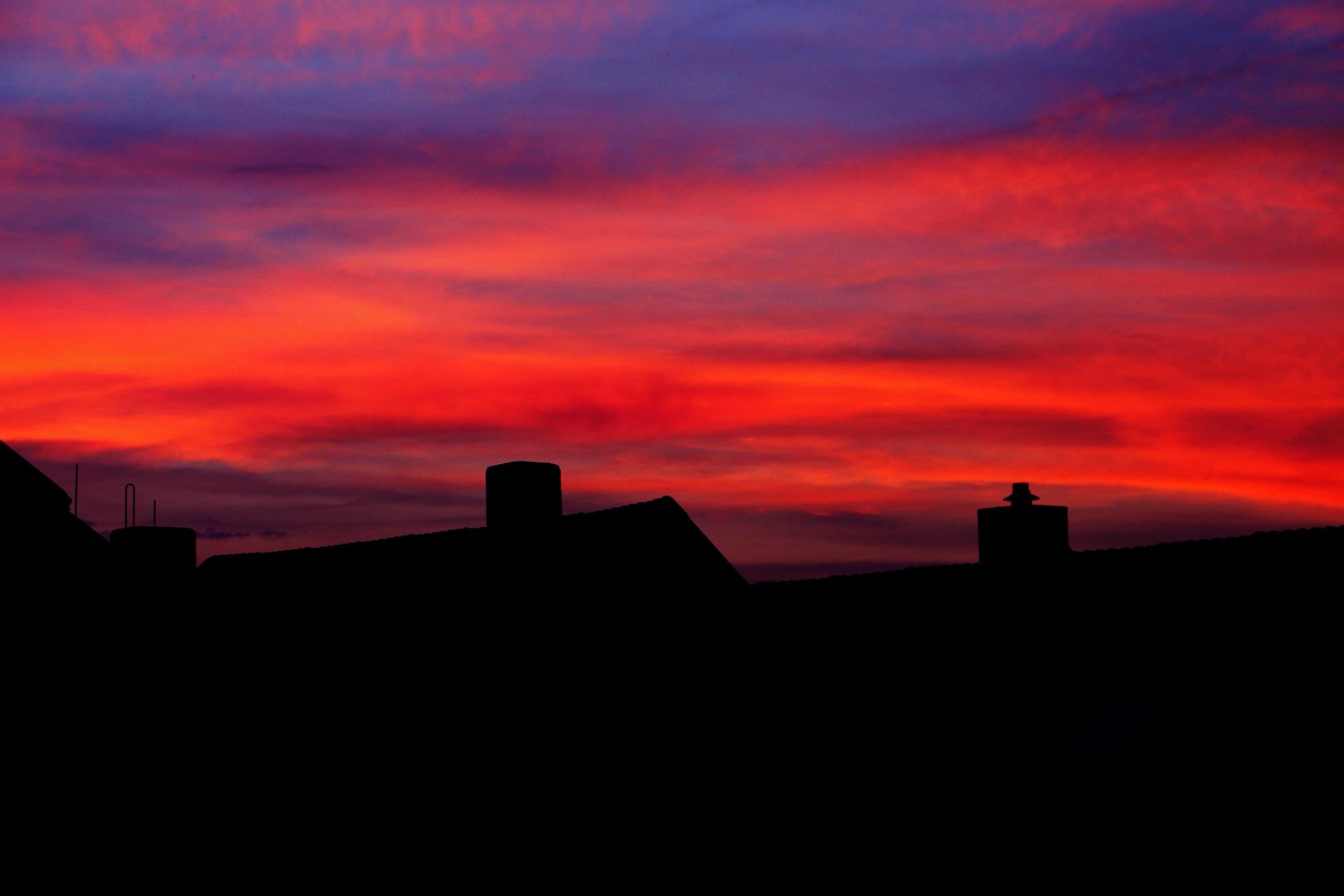 Foto: Sonnenuntergang, wub!