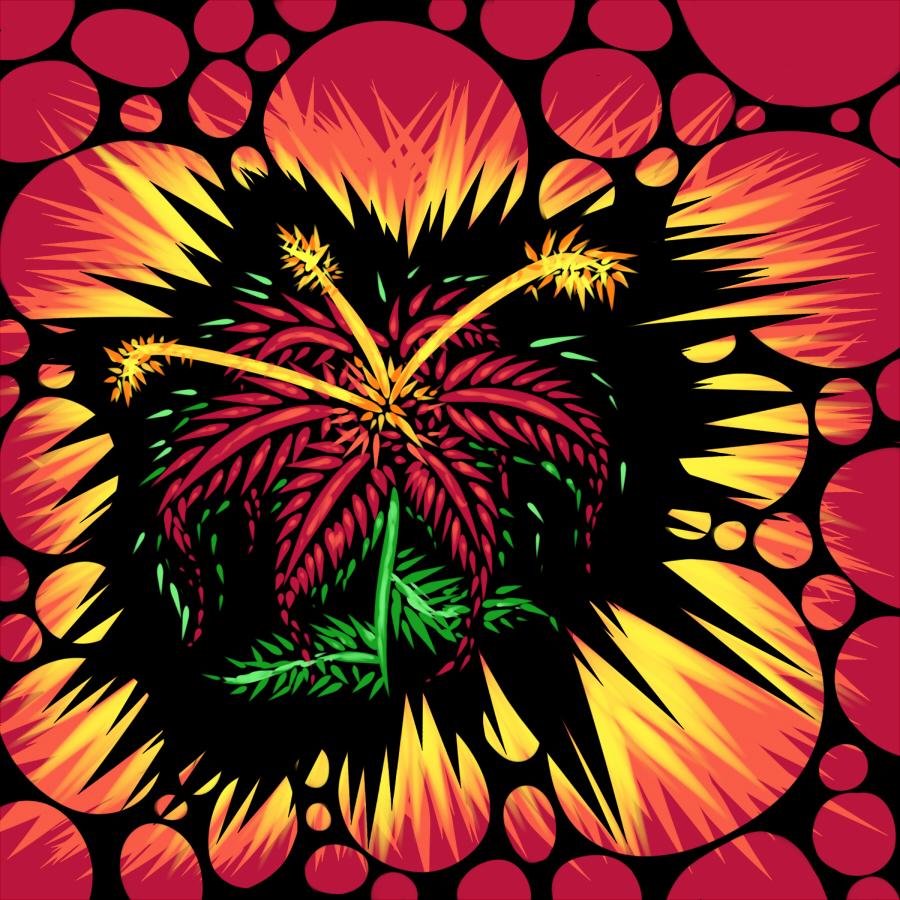 Pokémon-Zeichnung: Blume