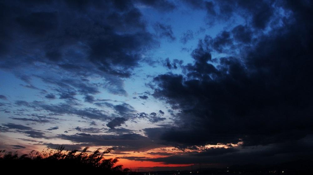 Foto: Abendhimmel