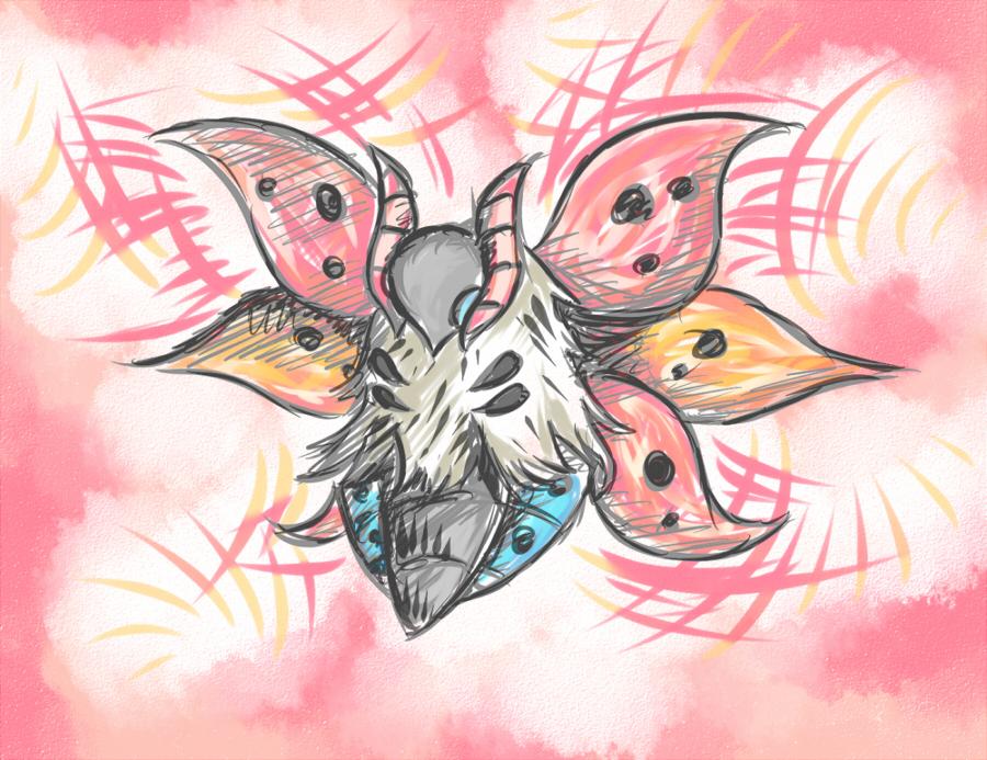 Pokémon-Zeichnung: Ramoth!