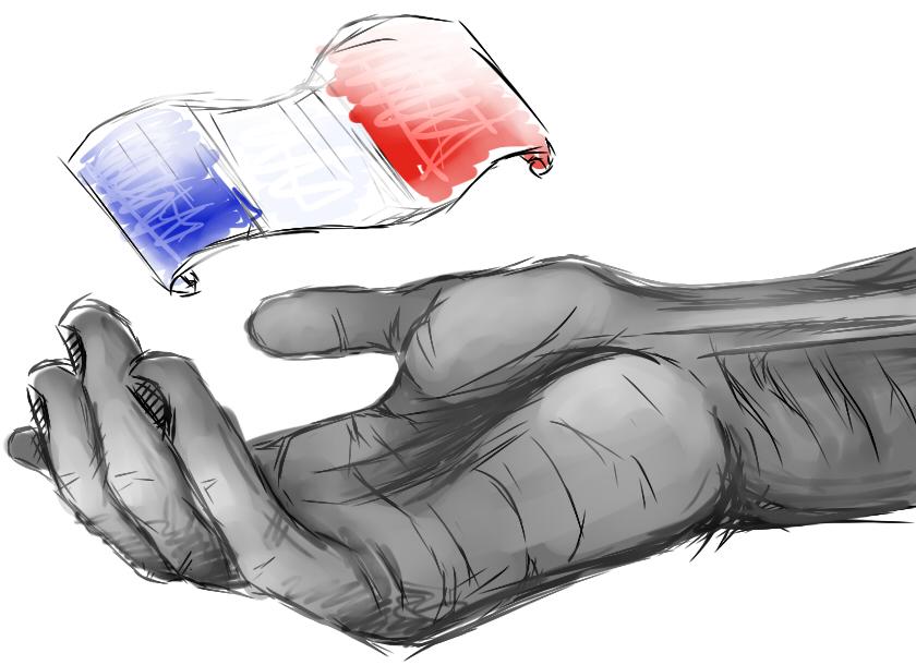 Pokémon-Zeichnung: Ein Bild für Frankreich