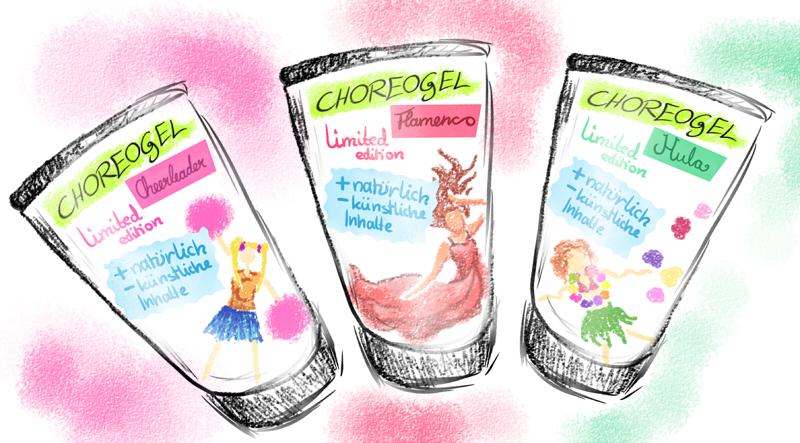 Pokémon-Zeichnung: Choreogel Troll