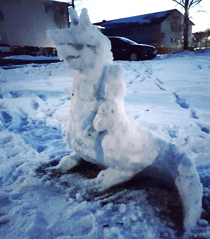 Foto: Schnee STOLLOSS!