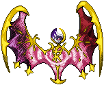 Pokémon-Sprite: Galaxy Lunala