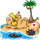 Pikachus kuhler Sommerurlaub