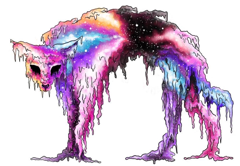 Pokémon-Zeichnung: UB42 - Dark Matter