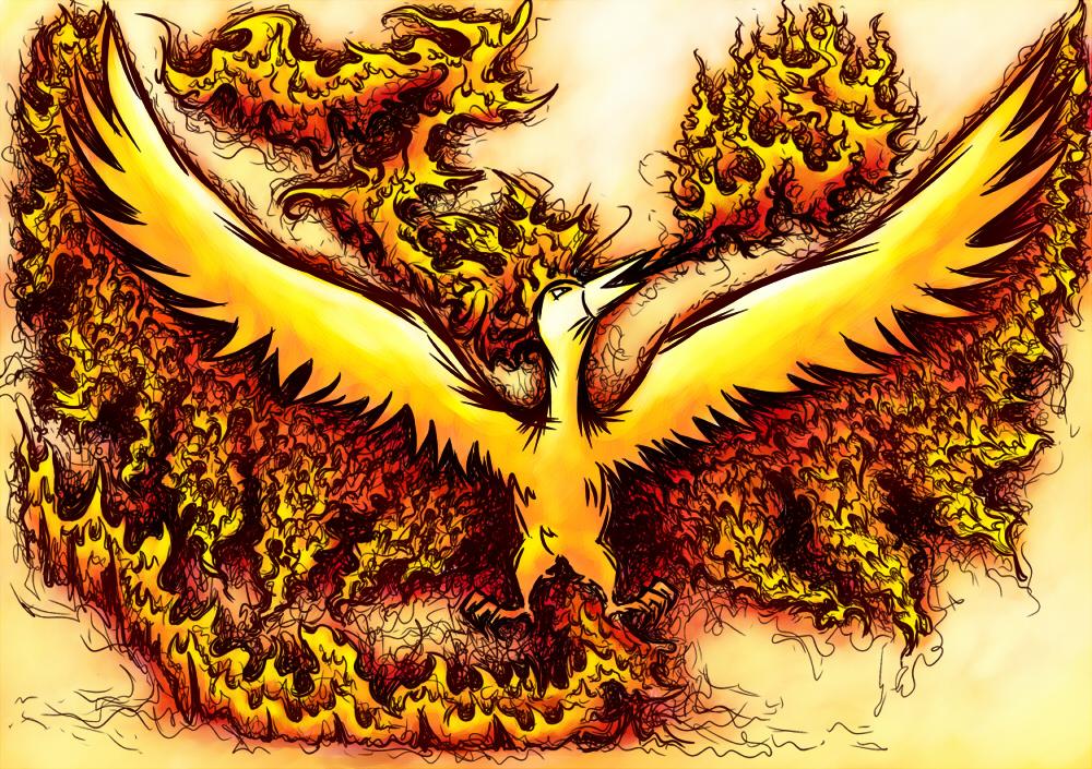 Pokémon-Zeichnung: Kill it with fire!