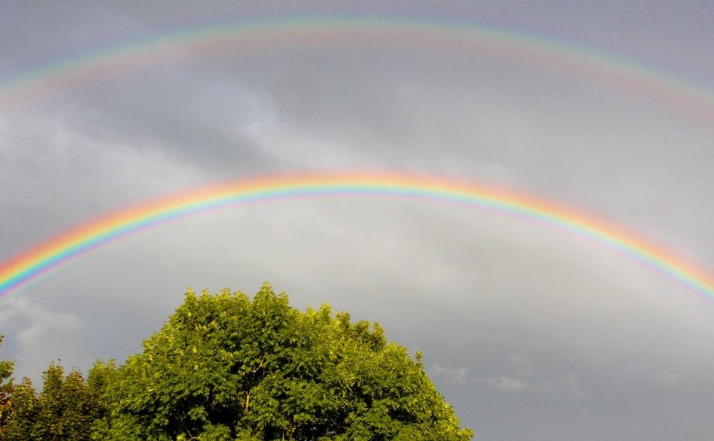 Foto: Mehr Regenbogen!