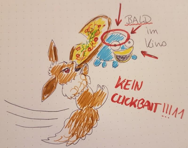 Pokémon-Zeichnung: Meisterwerk