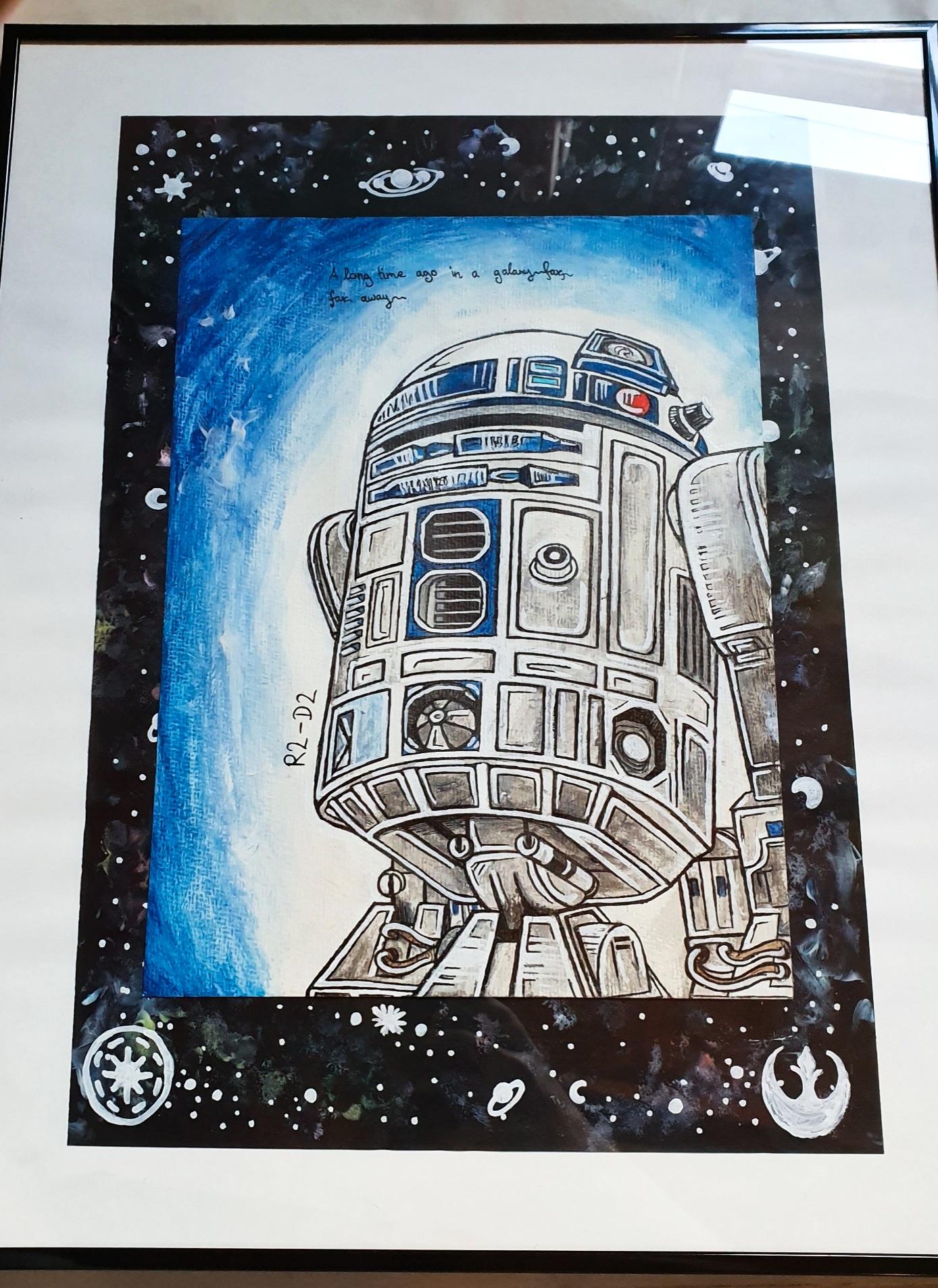 Pokémon-Zeichnung: R2-D2
