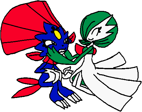 Pokémon-Zeichnung: Knuddelattacke