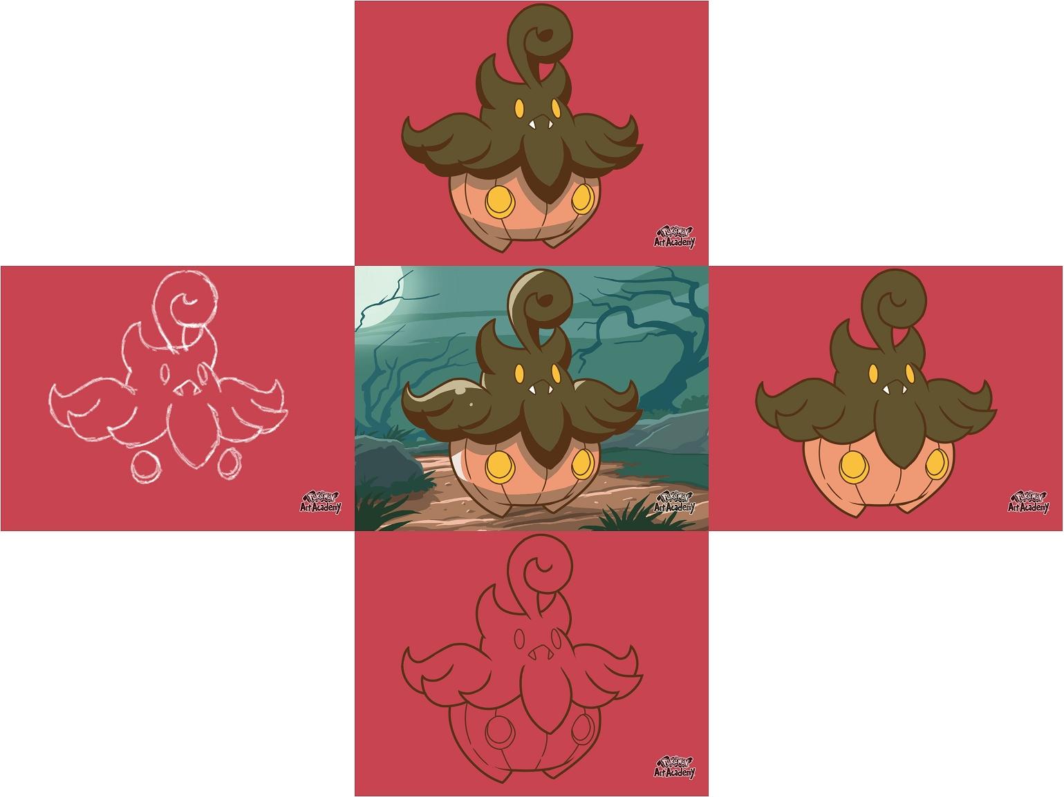 Pokémon-Zeichnung: Egal...