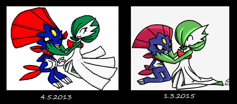 Pokémon-Zeichnung: Knuddelattacke 2