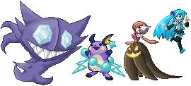Pokémon-Pixelart: 3. Platz