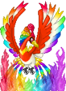 Rainbow Fire Bird Meh