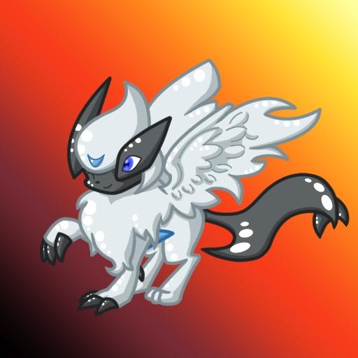 Pokémon-Zeichnung: AbsolLugia