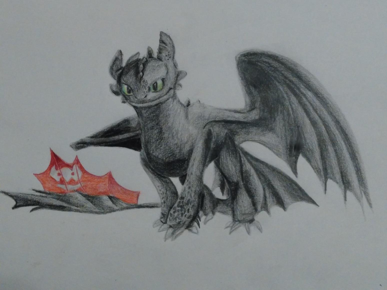 Pokémon-Zeichnung: Ohnezahn