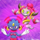 Weaviolet and Hoopa
