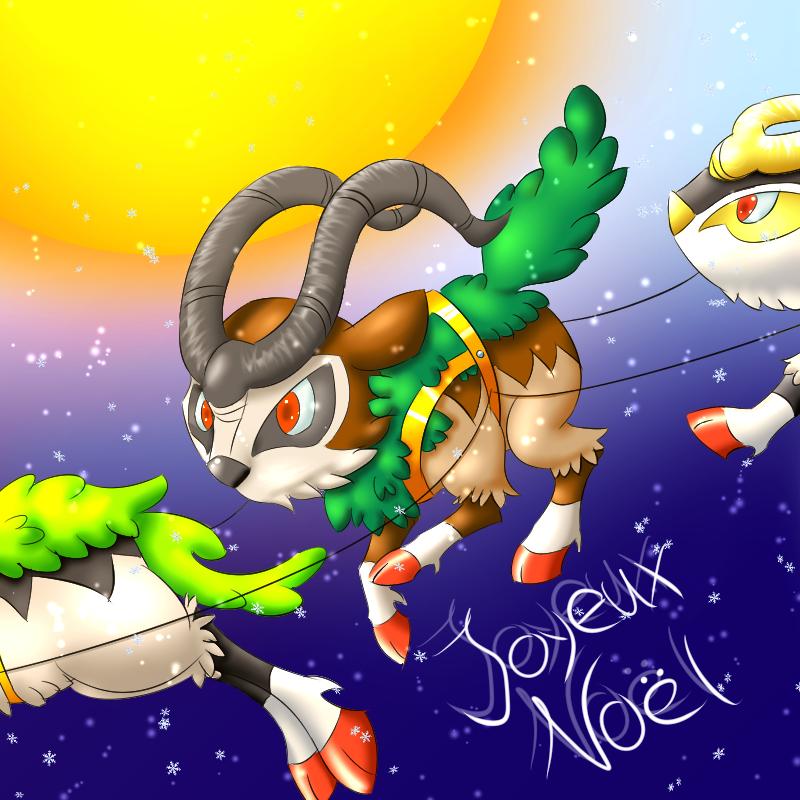 Pokémon-Zeichnung: Gogoat