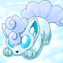 Schnee-Vulpixel