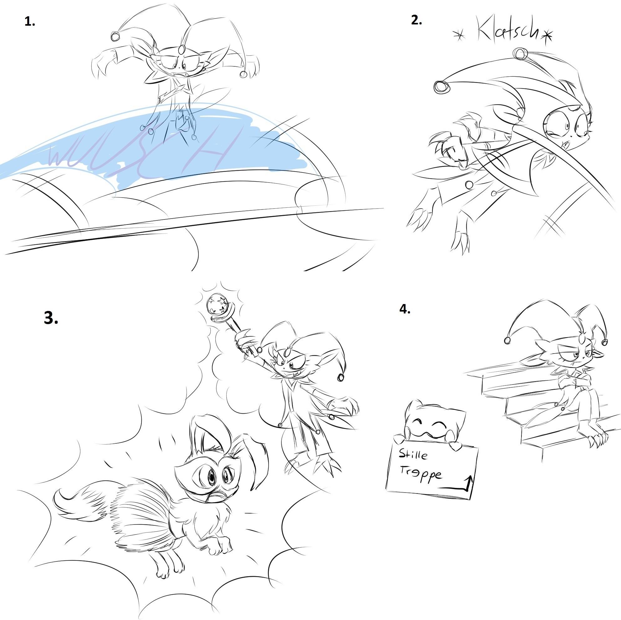 Pokémon-Zeichnung: That escalated quickly