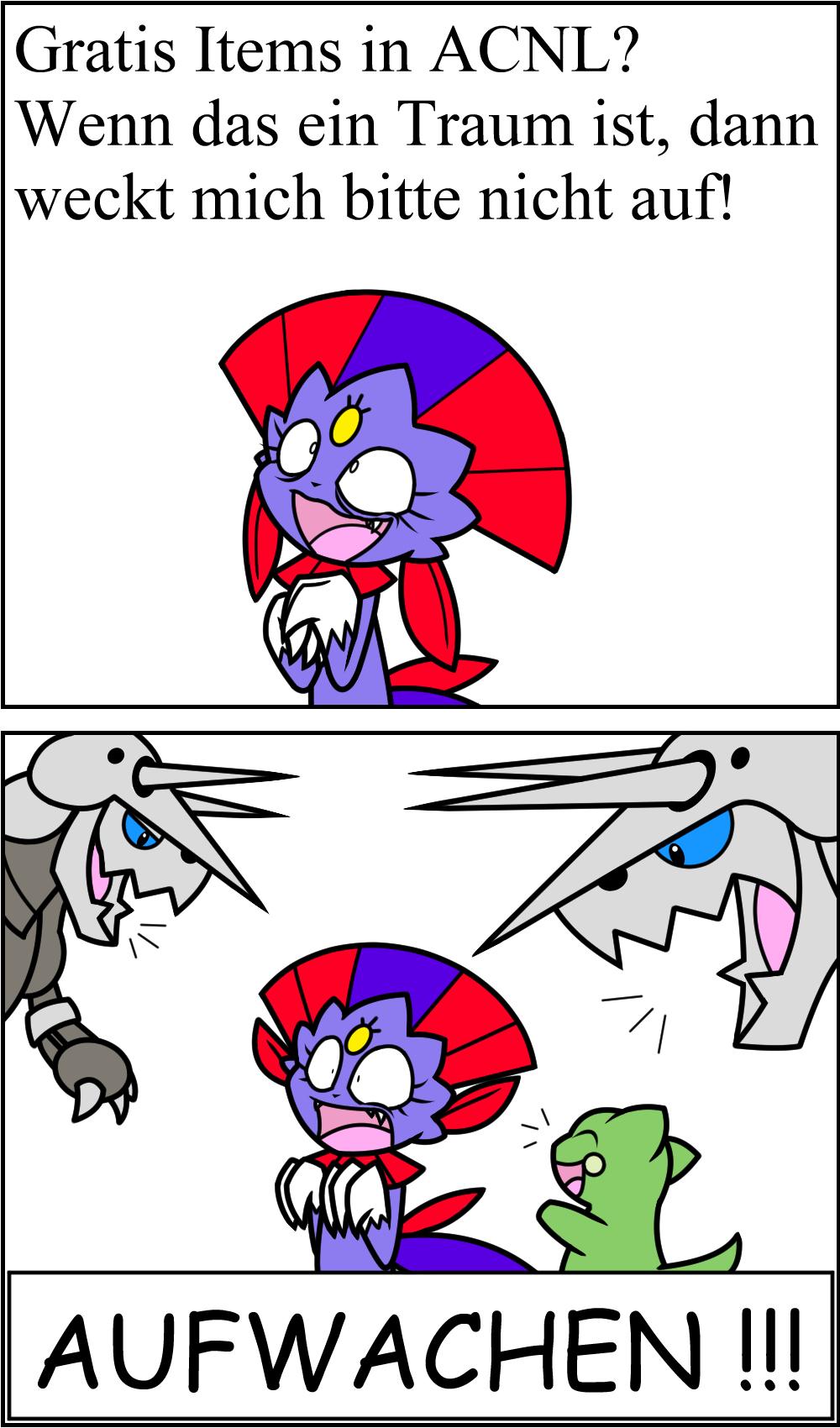 Pokémon-Zeichnung: Don't wake Weavile