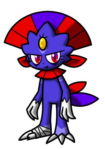 Pokémon-Zeichnung: Neuer Snibunna OC