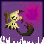 Pokémon-Pixelart: Mi mi mi mi...