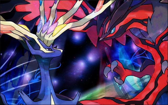 Pokémon-Fanart: Yveltal & Xerneas~