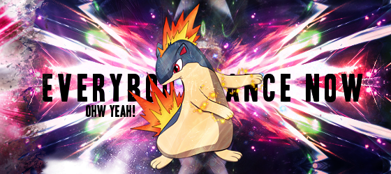 Pokémon-Fanart: Everybody dance now, jerr