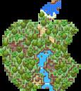 Nicht rechteckige Map