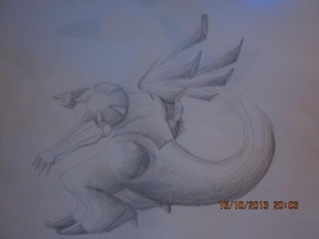 Pokémon-Zeichnung: Palkia