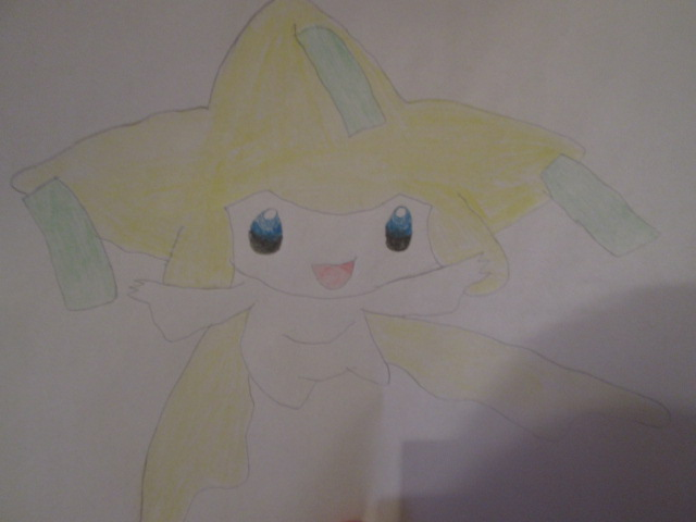 Pokémon-Zeichnung: Jirachi