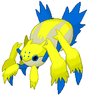 Pokémon-Pixelart: Voltula