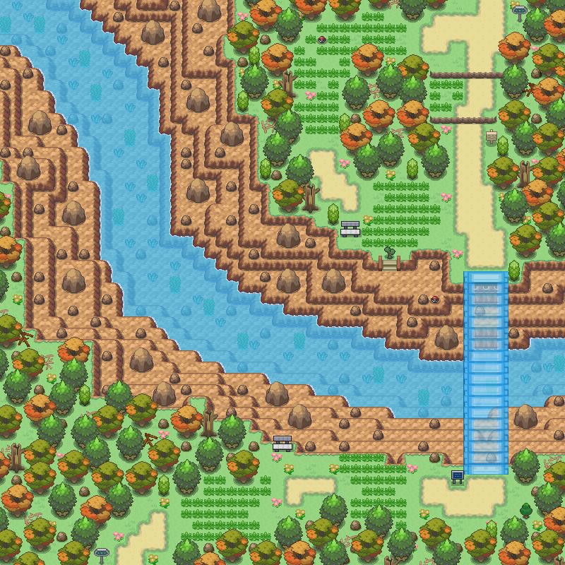 Pokémon-Map: Route 1