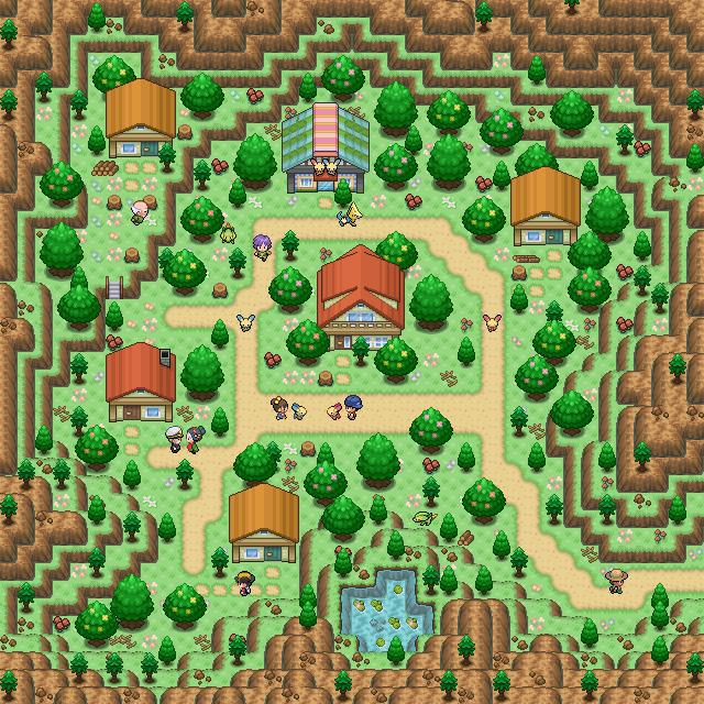 Pokémon-Map: Idyllia