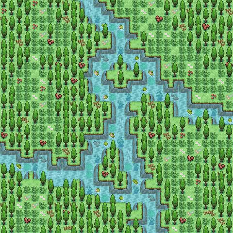 Pokémon-Map: Minimap